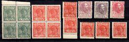 Rio De Oro Petite Collection Neufs 1907/1919. Bonnes Valeurs. B/TB. A Saisir! - Rio De Oro