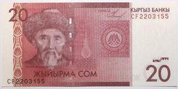 Kyrgyzstan - 20 Som - 2009 - PICK 24a - NEUF - Kirghizistan