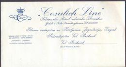 TRIESTE  COSULICH  LINE  OFFICE  VELIKI BEČKEREK ( ZRENJANIN ) VOJVODINA SERBIA - Cc 1930 - Boten