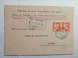 Schweiz Postkarte 1932 - Suisse