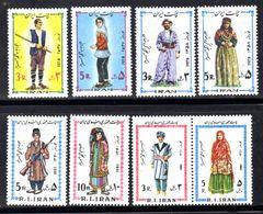 IRAN - 1978-1979, 1981-1982 NEW YEAR COSTUMES (8V) FINE MNH ** SG 2075-6, 2096-7, 2162-3, 2189-90 - Iran
