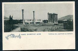 GRECE 1899 - Souvenir D' ATHENES - Temple Du Jupiter Olympien. Greece - Greece
