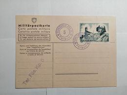 Schweiz MILITÄRPOSTKARTE 1939 - Suisse