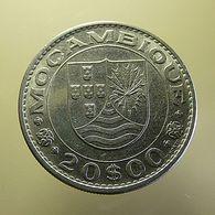 Portuguese Moçambique 20 Escudos 1971 - Portugal