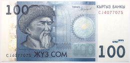 Kyrgyzstan - 100 Som - 2016 - PICK 26b - NEUF - Kyrgyzstan