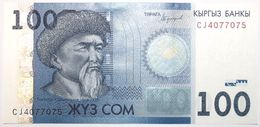 Kyrgyzstan - 100 Som - 2016 - PICK 26b - NEUF - Kirghizistan