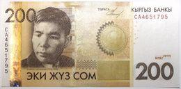 Kyrgyzstan - 200 Som - 2010 - PICK 27a - NEUF - Kirghizistan