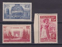 D167/ LOT N° 400/401/403 NEUF** COTE 17.40€ - Collections