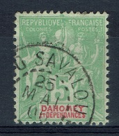 "Dahomey (Benin), 5c., ""Groupe"". 1901, VFU scarce Postmark From SAVALOU - Dahome (1899-1944)"