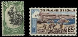 1903, Französisch Somaliküste, 64 I U.a., ** - Non Classificati