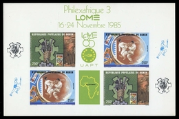 1985, Benin, 424-25 KB Edl - Benin – Dahomey (1960-...)