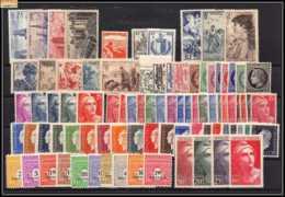 1945 Année Complète Neufs ** Cote 82 Euros PARFAIT état TTB - 1940-1949