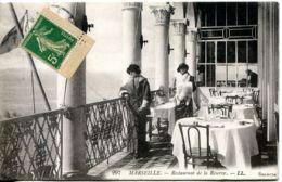 N°1043 R -cpa Marseille -restaurant De La Réserve- - Hotels & Gaststätten