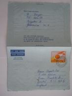 Jamaica Entier Postal Air Letter Aerogramme 1974 9c Allman Town Kingston To Bristol - Jamaica (1962-...)
