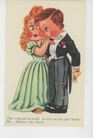 Illustrateur ENFANTS - LECLERC - Jolie Carte Fantaisie Enfants , Petit Garçon Avec Chaussures Trop étroites - Leclerc