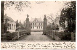 Beveren Waas Villa Alix Du Comte Joseph De Bergeyck Zeldzaam Rare - Beveren-Waas