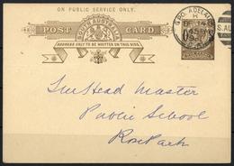 1896, Südaustralien, DP 3, Brief - Australia