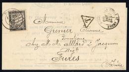 1888, Frankreich, P 18, Brief - Non Classificati
