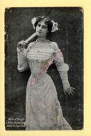 Fantaisie: Femme / Eventail  / Milo D'Arcyle (voir Scan Recto/verso) - Women
