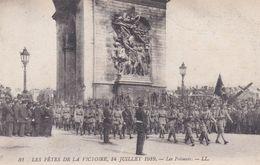 Fêtes De La Victoire 14 Juillet 1919 Les Polonais - Guerra 1914-18