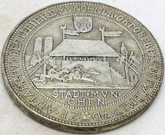 RÉPLICA Medalla Cerveza Oktoberfest 1910, Munich, Baviera, Alemania. 100 Aniversario, 1810 - Monarchia/ Nobiltà