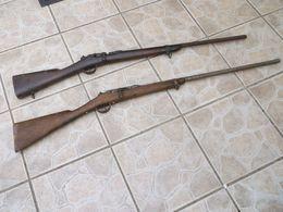 Fusils Gras Pour Pièces. - Decorative Weapons