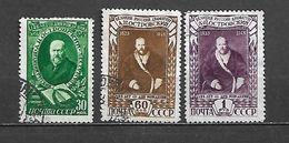 URSS - 1948 - N. 1211/13 USATI (CATALOGO UNIFICATO) - 1923-1991 USSR