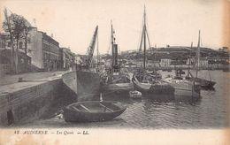 AUDIERNE  - Les Quais ( LL ) Etat - Audierne