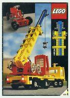 Notice De Montage Lego - Lego Technic - Numéro 856 - 32 Pages Couleurs - Travaux Publics - Ontwerpen