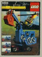 Notice De Montage Lego - Lego Technic - Numéro 8888 - 100 Pages Couleurs - (c) 1980 - Travaux Publics, Hélicoptère... - Plans