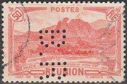 """France.  Colonie Réunion,  Perfin """"B.R) - Réunion (1852-1975)"""