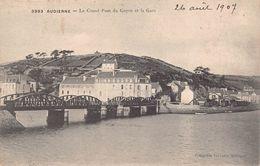 AUDIERNE  - Le Grand Pont Du Goyen Et La Gare ( Villard 3993 ) - Audierne