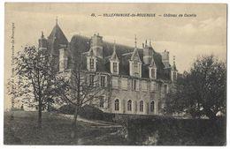 CPA 12 VILLEFRANCHE DE ROUERGUE Château De Cazelle - Villefranche De Rouergue