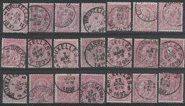 Nr 46  21 X Oblit/gestp - Belgique