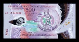 Vanuatu 500 Vatu 2017 Pick 18 Polymer SC UNC - Vanuatu