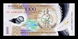 Vanuatu 1000 Vatu 2014 Pick 13 Polymer SC UNC - Vanuatu
