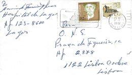 TIMBRES - STAMPS - LETTRE - PORTUGAL -1990- BARTOLOMEU PERESTRELO - DONATOIRE DE PORTO SANTO - 1910 - ... Repubblica