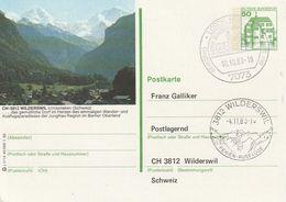 """Bundesrepublik Deutschland / 1982 / Bildpostkarte """"WILDERSWIL (Schweiz) Mit Bildgleichem Ankunfts-Stempel (BT13) - [7] Repubblica Federale"""