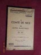 Marques Postales Du Comté De Nice 85-87 édition 1947 - Oblitérations