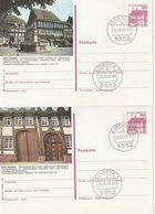 """Bundesrepublik Deutschland / 1988 / 2 Bildpostkarten """"EINBECK"""" Je Mit Bildgleichem Stempel (BT15) - [7] Federal Republic"""
