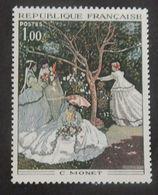 """FRANCE YT 1703 NEUF**MNH """"TABLEAU DE MONET"""" ANNÉE 1972 - Unused Stamps"""