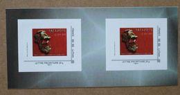 B1-H2 : Paléosite - Sur Les Traces Du Néandertal  (autocollants / Autoadhésifs ) - Gepersonaliseerde Postzegels