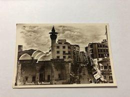 LEBANON - BEIRUT - MAARAD STREET  - RUE MAARAD - 1935 - POSTCARD - Liban