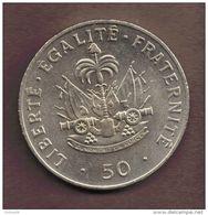 HAITI 50 CENTIMES 1991 Charlemagne Peralte KM# 153 - Haïti