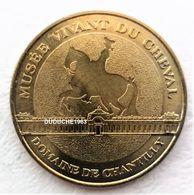 Chasse. Monnaie De Paris 60.Chantilly - Musée Vivant Du Cheval 2011 - Monnaie De Paris