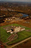 Wisconsin Eau Claire Sacred Heart Hospital Aerial View - Eau Claire