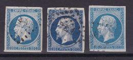 D169/ LOT NAPOLEON N° 14 OBL - 1853-1860 Napoleon III