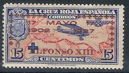 España 0365 * Jura Constitucion Alfonso XIII. 1927. Charnela - Ungebraucht