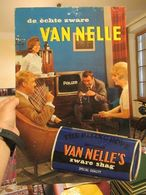 Van Nelle (Tobacco) - Showcard (with Silhouette) In Rigid Cardboard - 500 X 325 Mm - Reclame-artikelen
