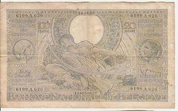 Banque Nationale De Belgique | 100 Francs - 20 Belgas - 1939 | Nationale Bank Van België - 100 Francs & 100 Francs-20 Belgas